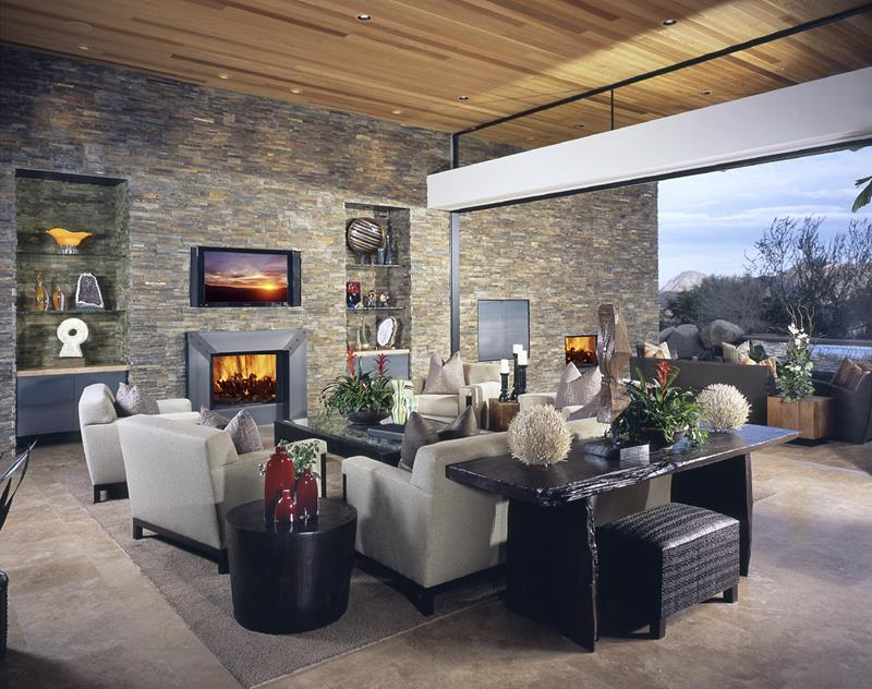 21 Living Rooms With Huge Picture Windows-8