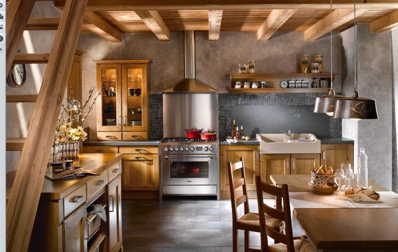 French kitchen design photos