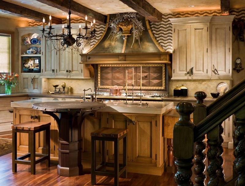 24 Country Kitchen Designs-17