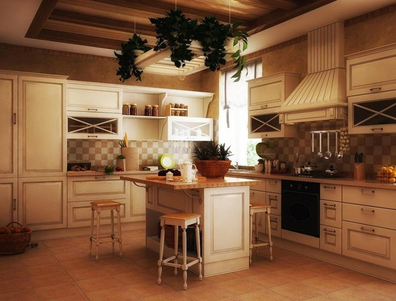 24 Country Kitchen Designs-2