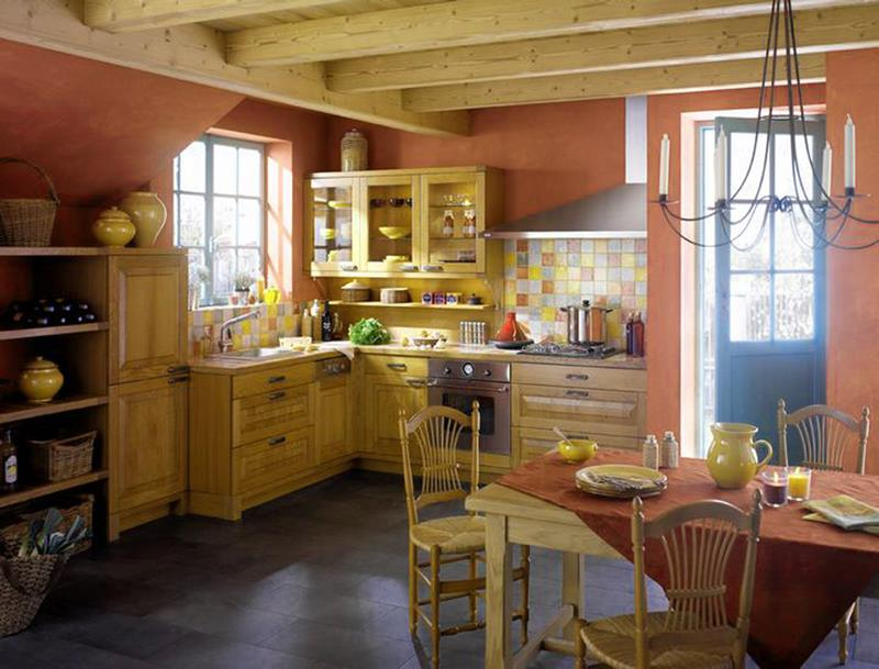 24 Country Kitchen Designs-5