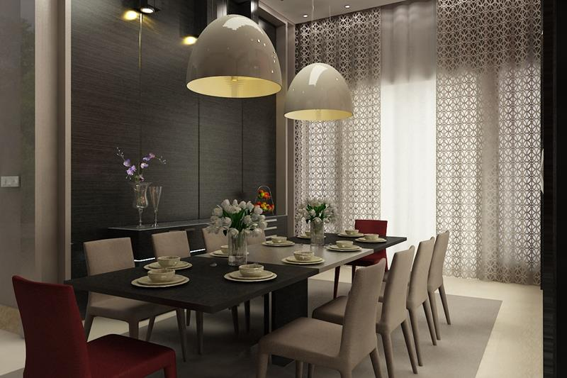 25 Luxurious Dining Room Designs-25