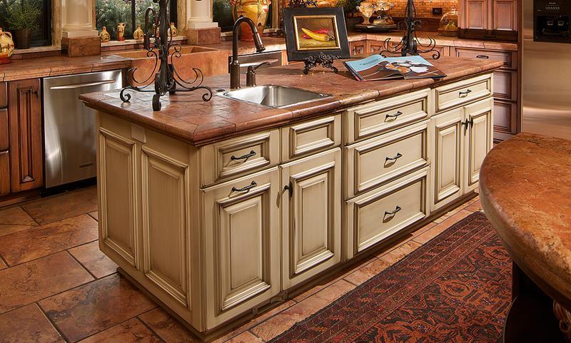 26 Stunning Kitchen Island Designs-11