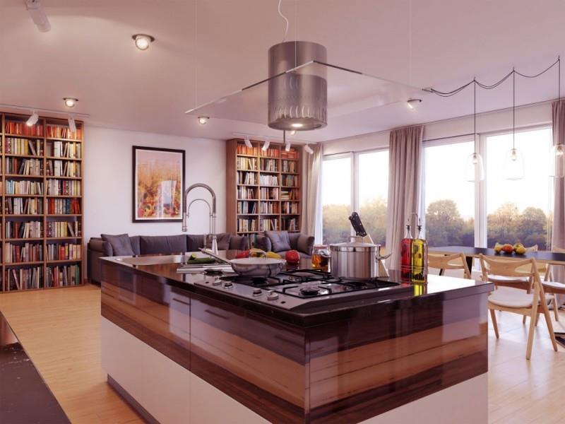 26 Stunning Kitchen Island Designs-15