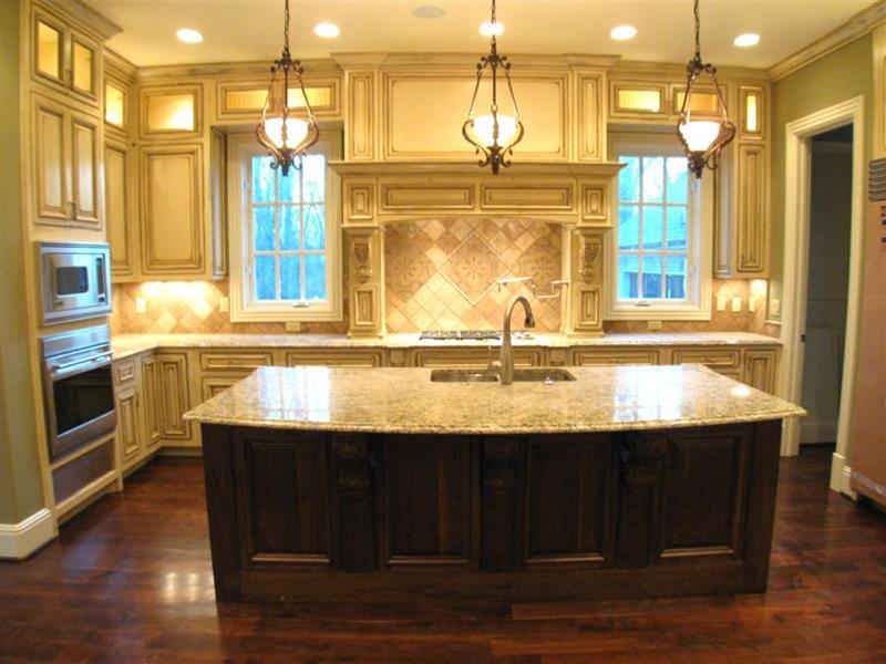 26 Stunning Kitchen Island Designs-16