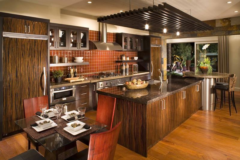 26 Stunning Kitchen Island Designs-19