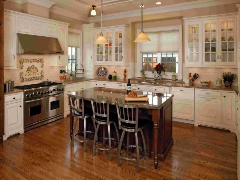 26 Stunning Kitchen Island Designs-2