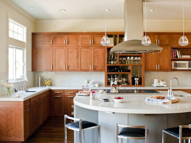 26 Stunning Kitchen Island Designs-20