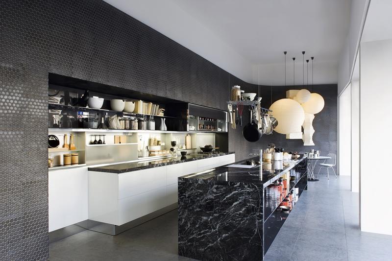 26 Stunning Kitchen Island Designs-21