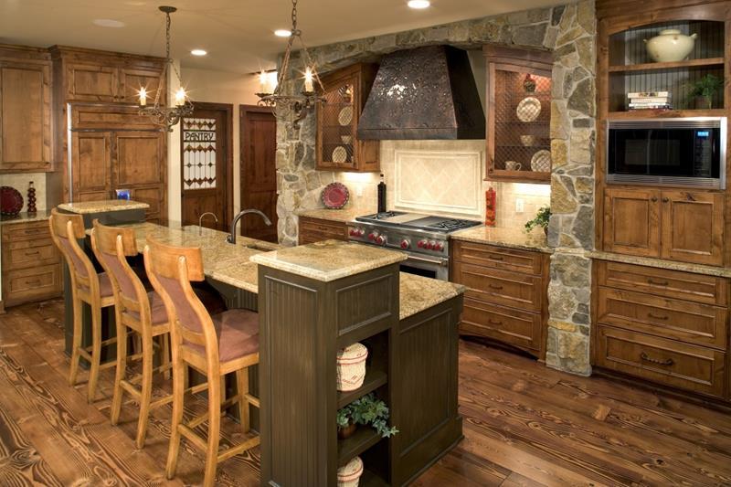27 Rustic Kitchen Designs-3