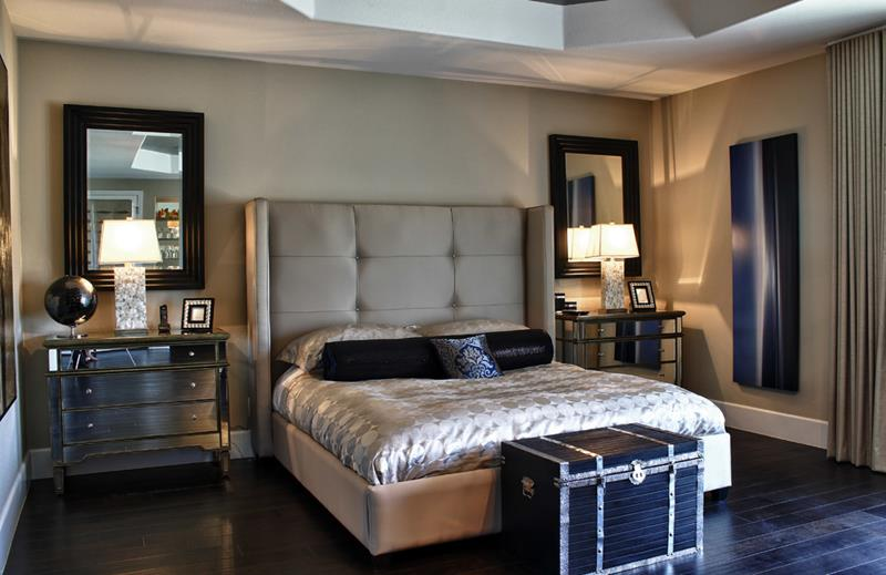 28 Master Bedrooms With Hardwood Floors-24