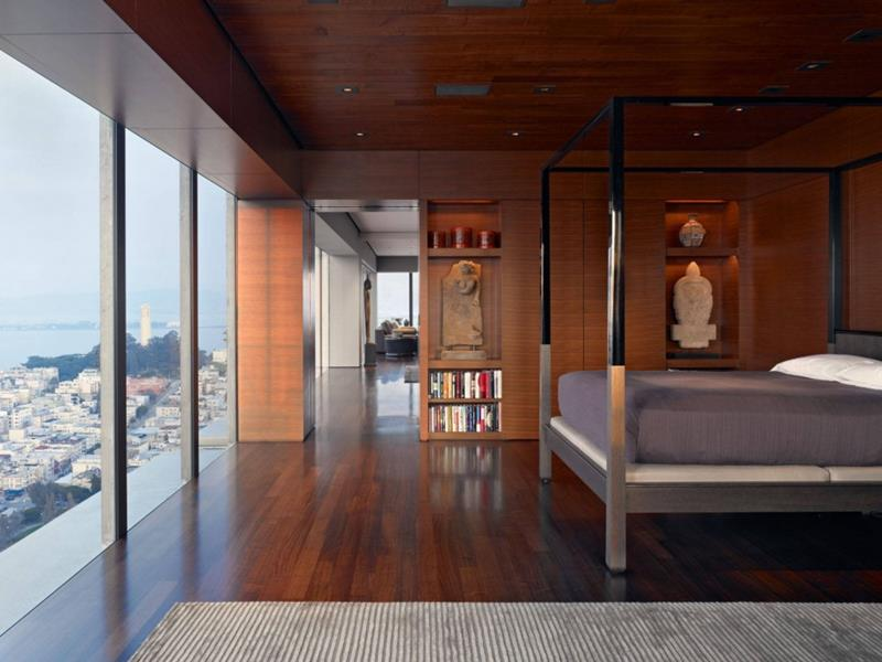 28 Master Bedrooms With Hardwood Floors-27