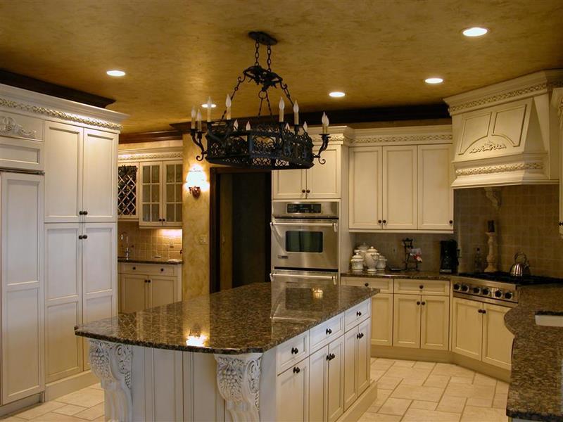 30 Supremely Luxurious Kitchen Designs-30