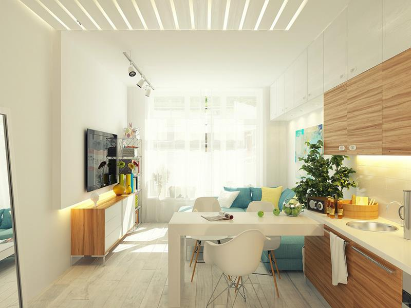 20 Awesome Small Apartment Designs That Will Inspire You-16