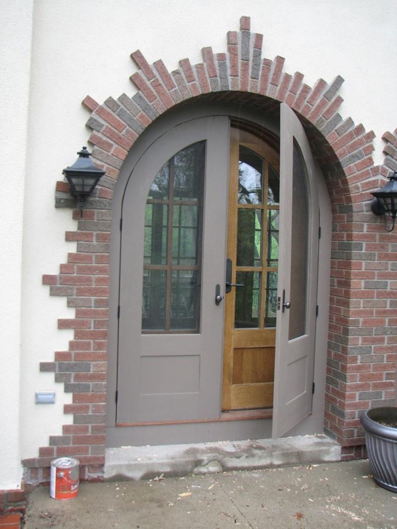 20 Stunning Front Door Designs-11