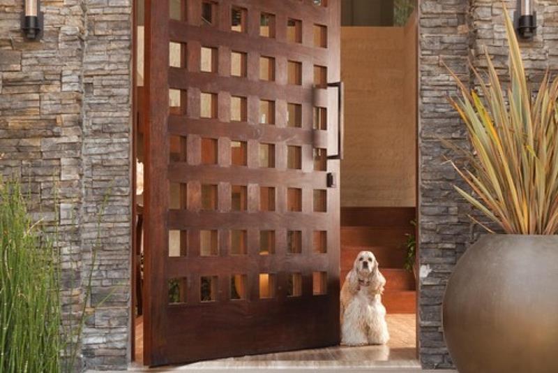 20 Stunning Front Door Designs-12