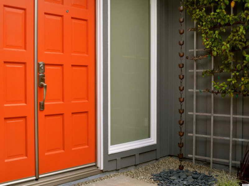 20 Stunning Front Door Designs-16