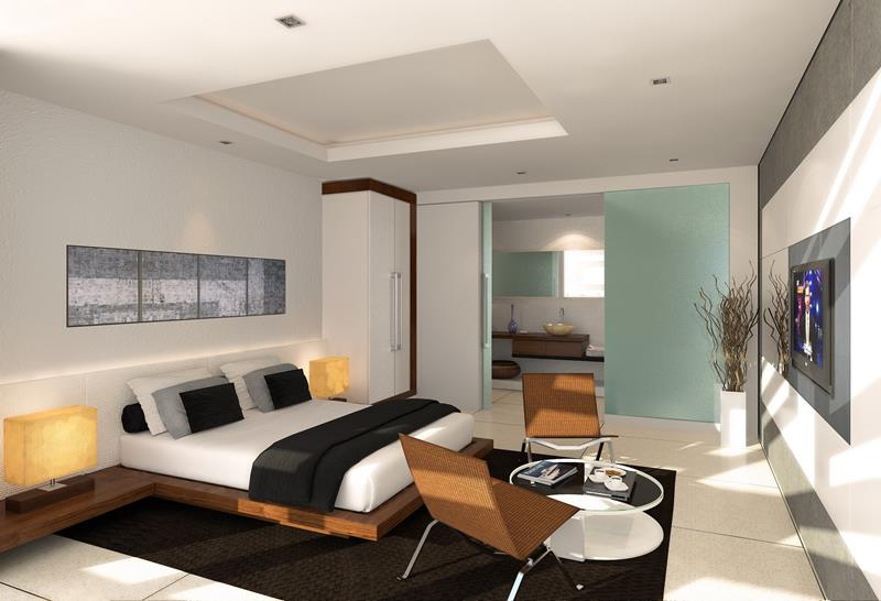 21 Contemporary and Modern Master Bedroom Designs-15