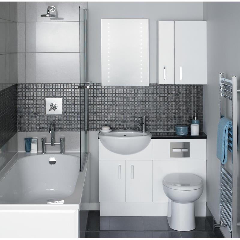21 Simply Amazing Small Bathroom Designs-2