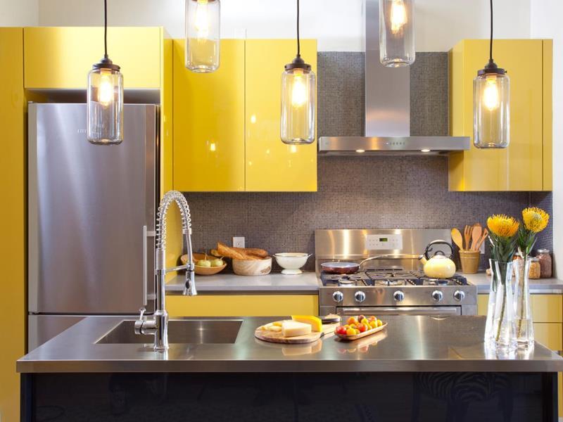 21 Sleek and Modern Metal Kitchen Designs-20