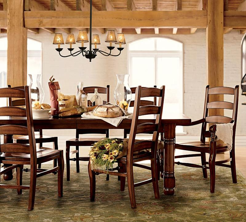 24 Totally Inviting Rustic Dining Room Designs-17