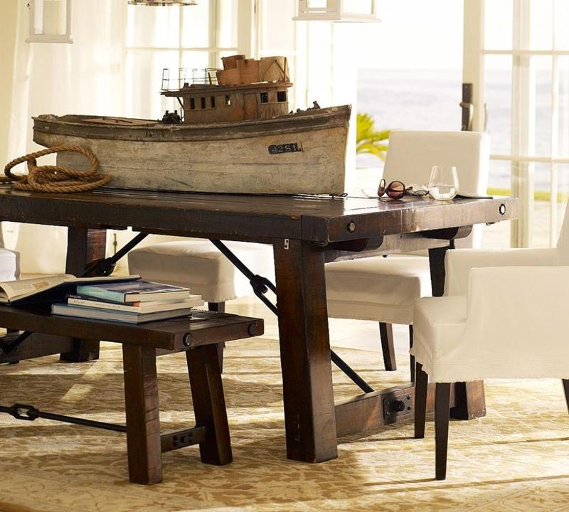24 Totally Inviting Rustic Dining Room Designs-2