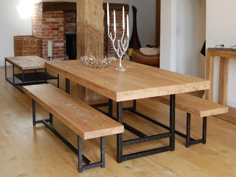 24 Totally Inviting Rustic Dining Room Designs-21