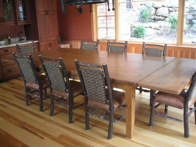 24 Totally Inviting Rustic Dining Room Designs-7
