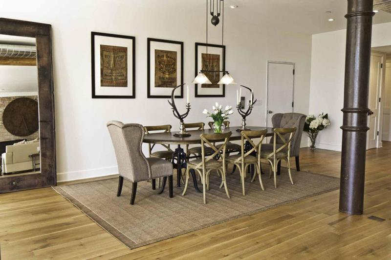 24 Totally Inviting Rustic Dining Room Designs-8