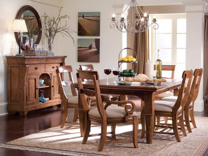 24 Totally Inviting Rustic Dining Room Designs-9