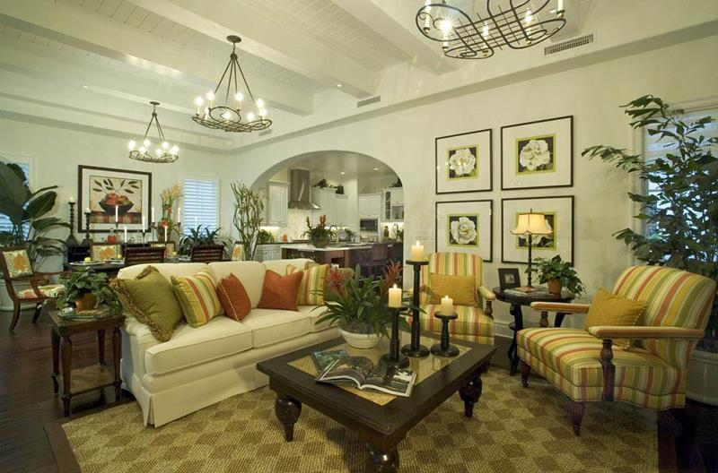 22 Cozy Country Living Room Designs-14