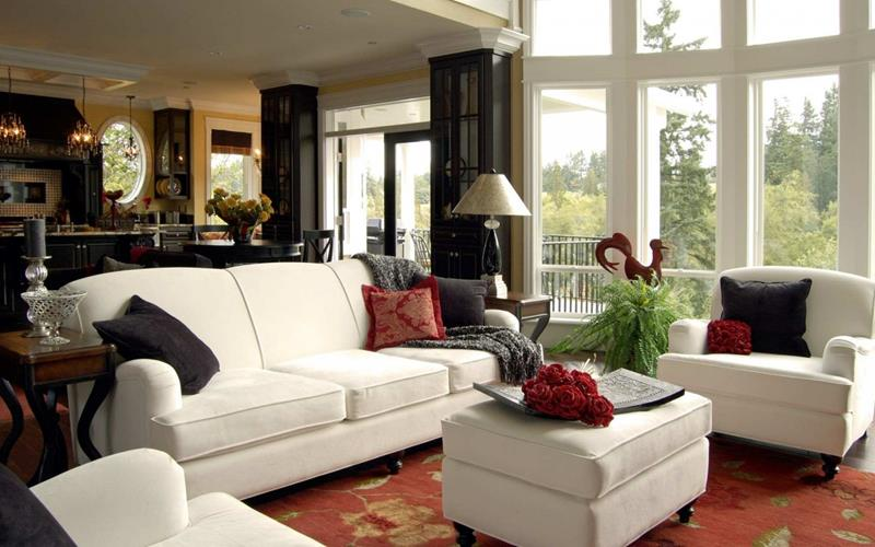 22 Cozy Country Living Room Designs-18