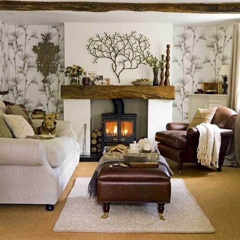 22 Cozy Country Living Room Designs-19