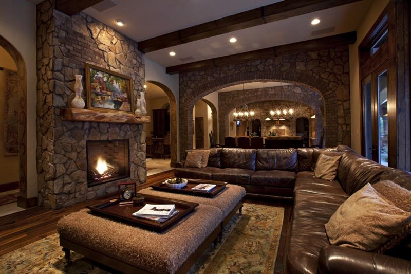 22 Cozy Country Living Room Designs-21