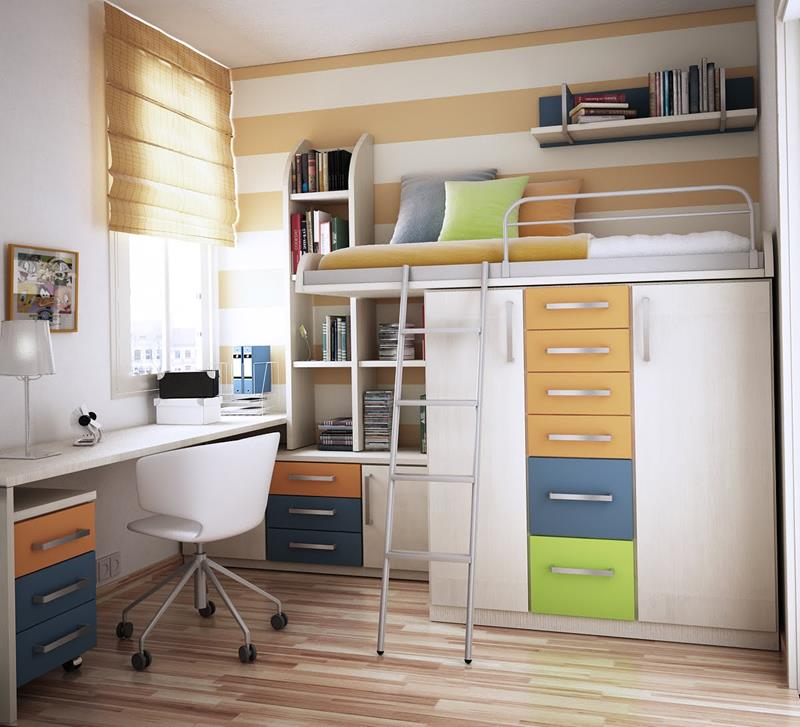 23 Efficient and Attractive Small Bedroom Designs-10
