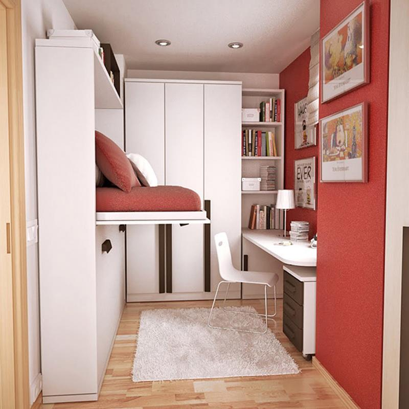 23 Efficient and Attractive Small Bedroom Designs-11