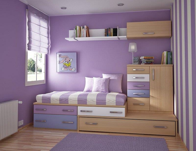 23 Efficient and Attractive Small Bedroom Designs-2