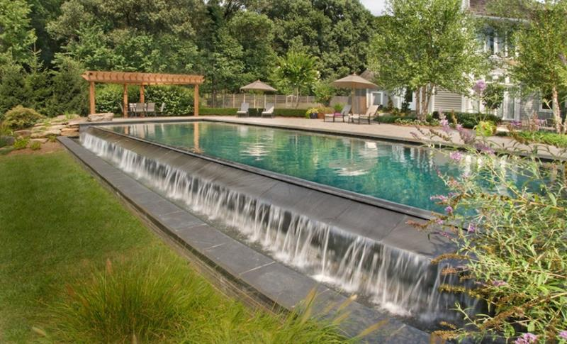 23 Visually Interesting In Ground Pool Designs-16