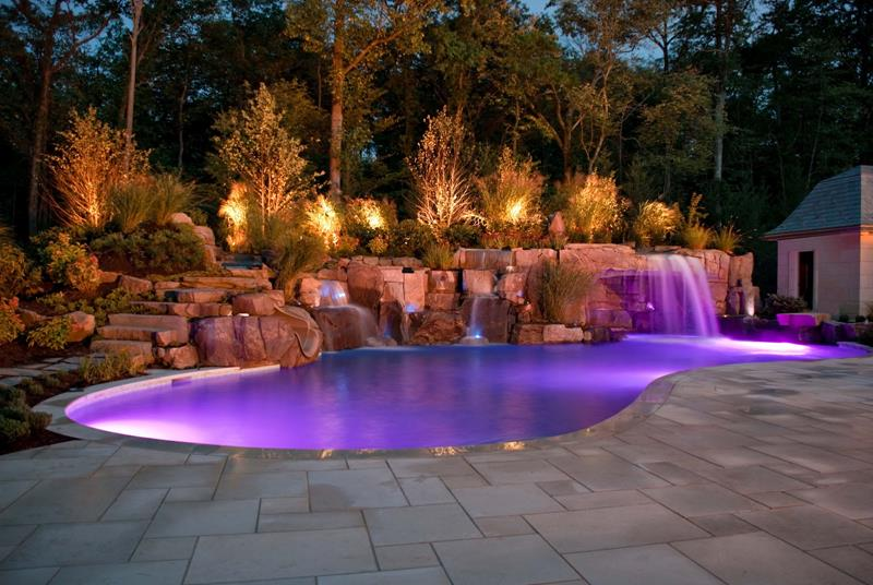 23 Visually Interesting In Ground Pool Designs-21