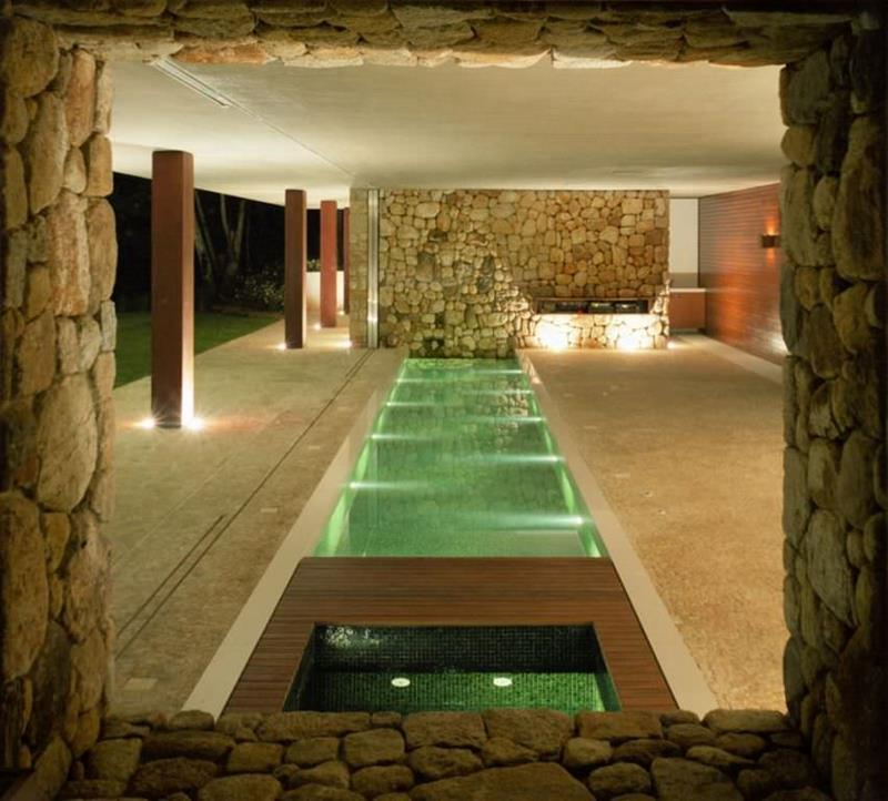 23 Visually Interesting In Ground Pool Designs-22