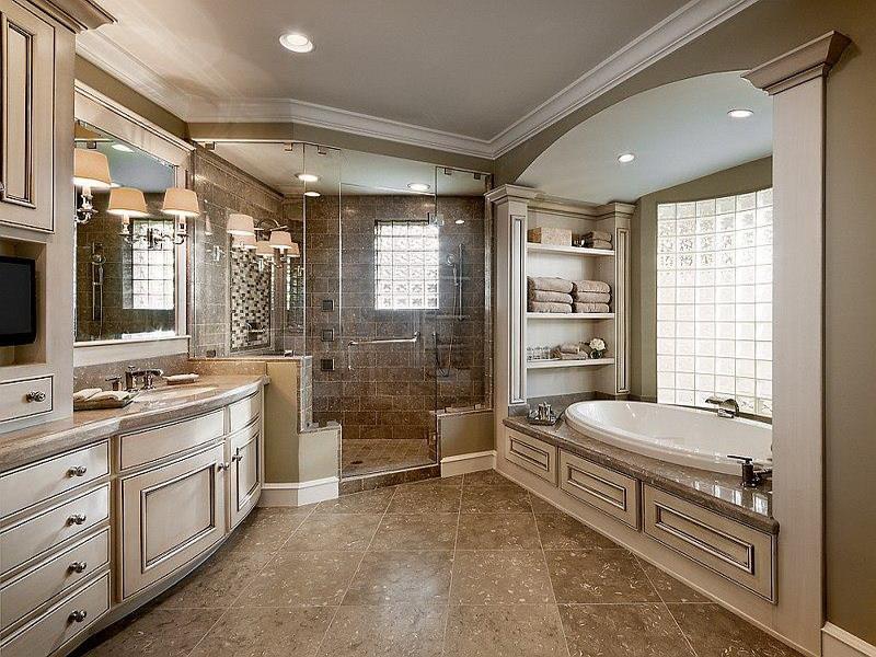 image named 24 Incredible Master Bathroom Designs title