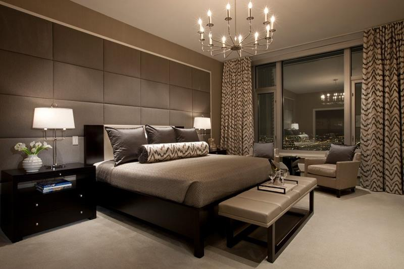 25 Dark Master Bedroom Designs Perfect for Snoozing-17