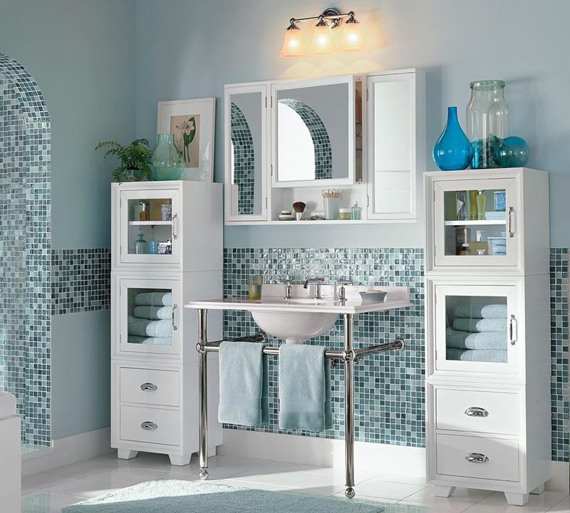 25 Serene and Feminine Bathroom Designs-12