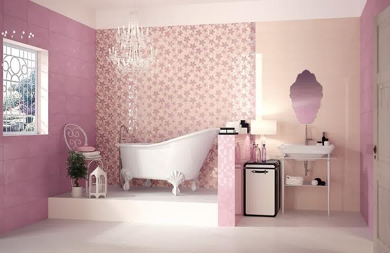 25 Serene and Feminine Bathroom Designs-18