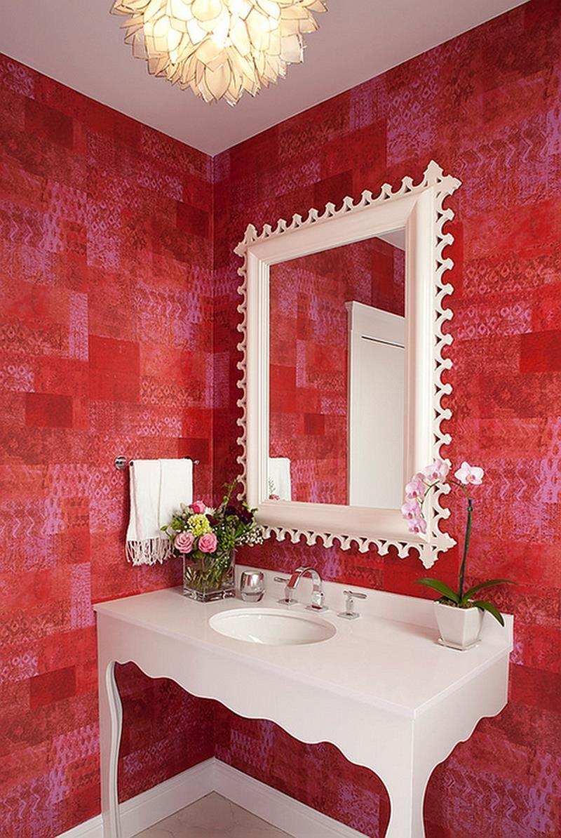 25 Serene and Feminine Bathroom Designs-19