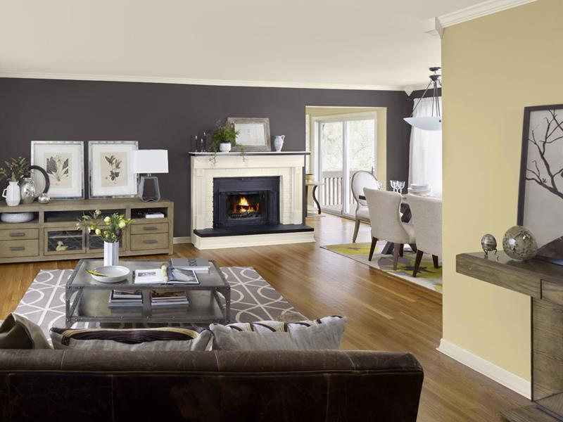 25 Stunning Living Rooms With Hardwood Floors-11