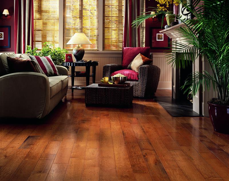 25 Stunning Living Rooms With Hardwood Floors-17