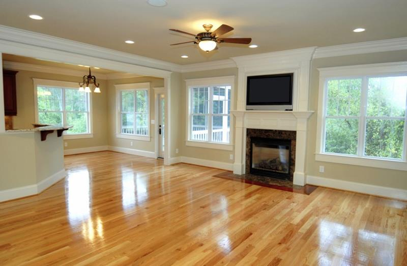 25 Stunning Living Rooms With Hardwood Floors-23