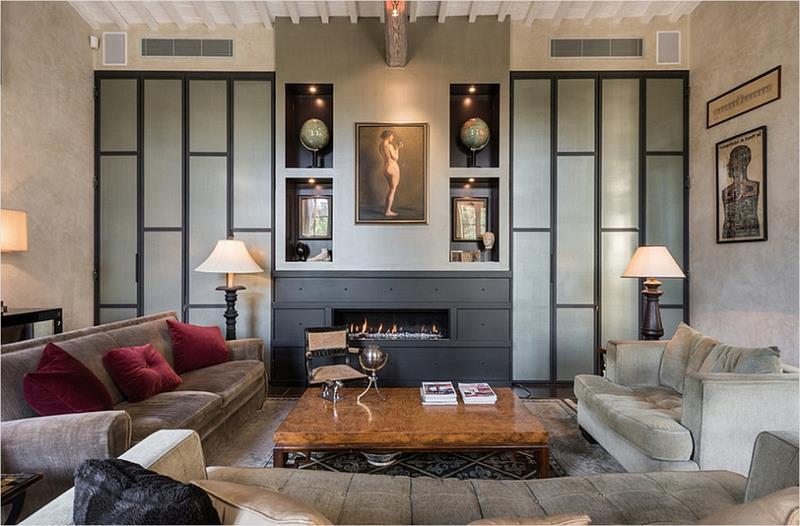 25 Super Masculine Living Room Designs-22