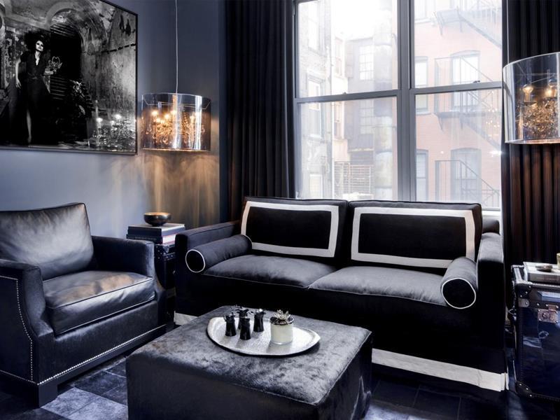 25 Super Masculine Living Room Designs-25